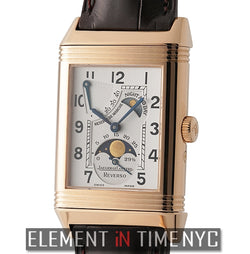 Reverso Sun & Moon 26mm Exhibition 18k Rose Gold