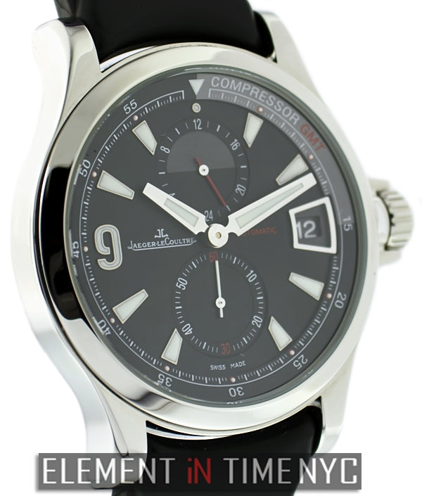 GMT Black Dial