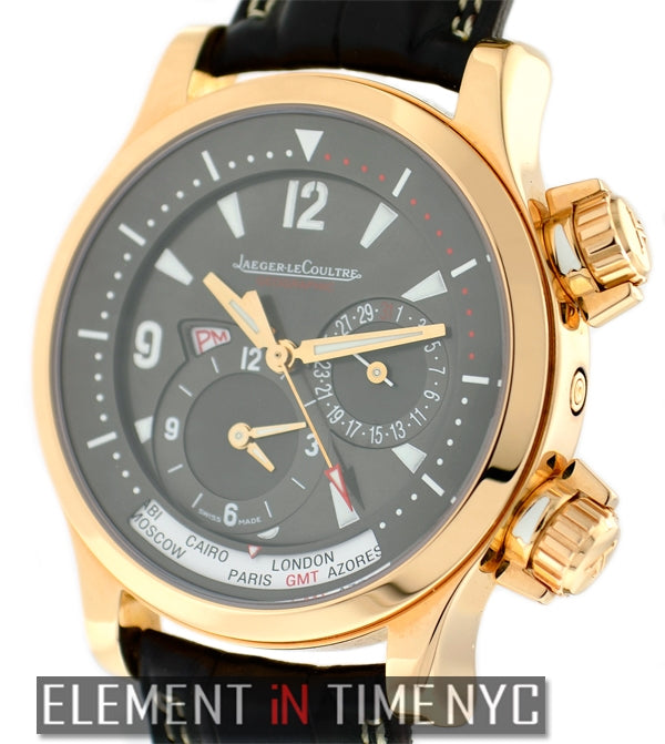 Geographic 18k Rose Gold