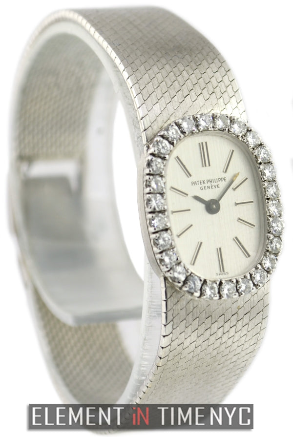 Ladies 18k White Gold