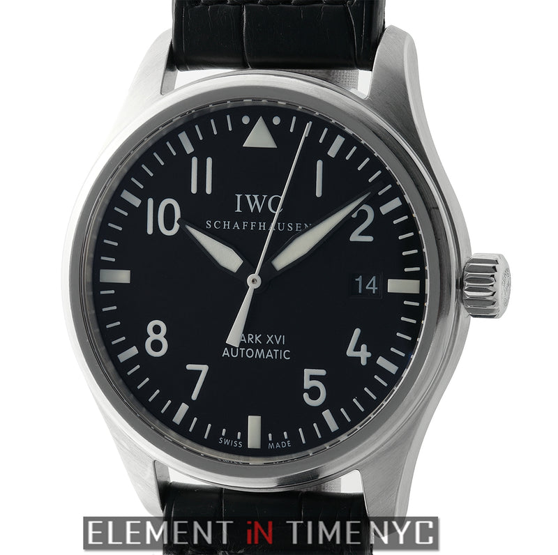 Mark XVI Stainless Steel 39mm Black Dial