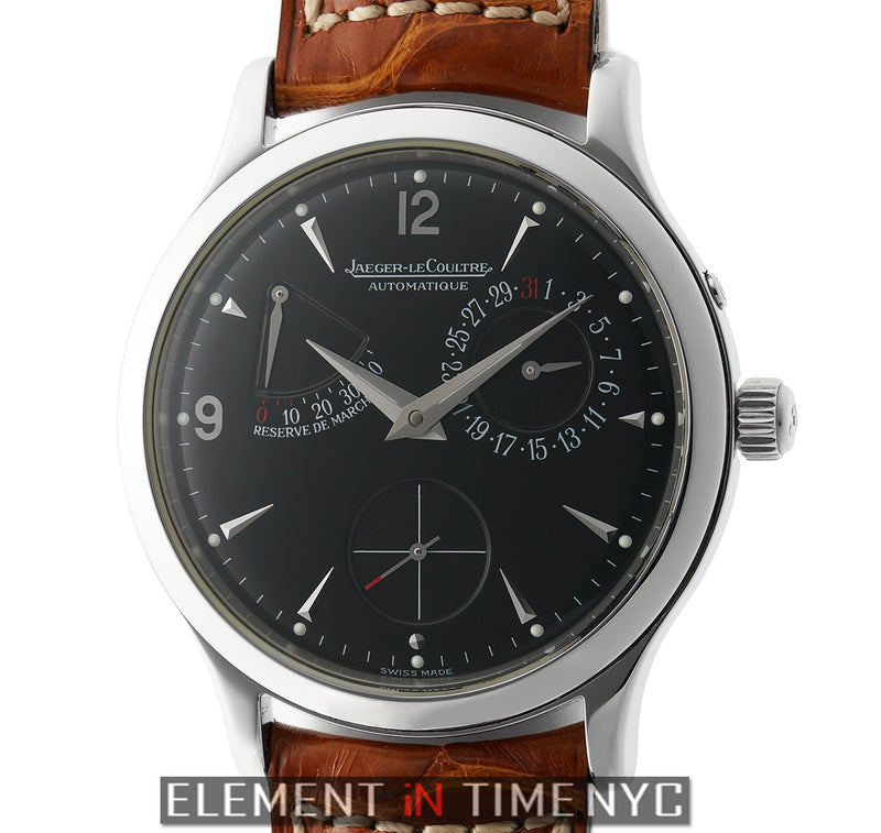 Reserve de Marche Stainless Steel 37mm Black Dial