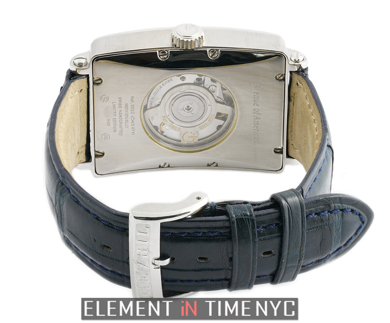 GMT Power Reserve 34mm Steel Black Dial XXX/500