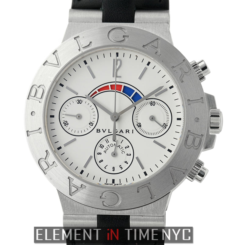 Regatta Chronograph 18k White Gold 40mm White Dial