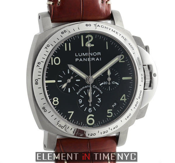 Luminor Chronograph Zenith Movement Titanium E Series 2005