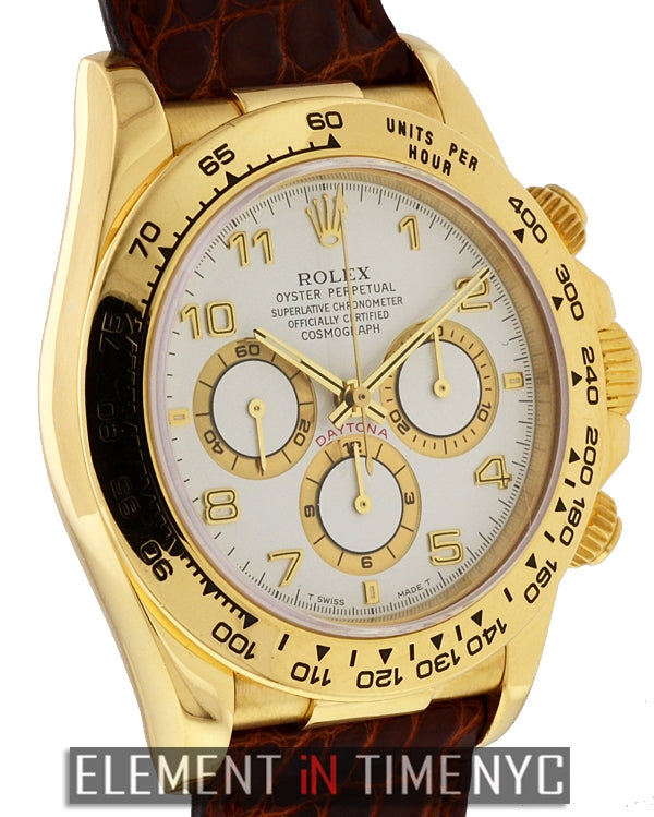 Zenith Movement 18k Yellow Gold W Series