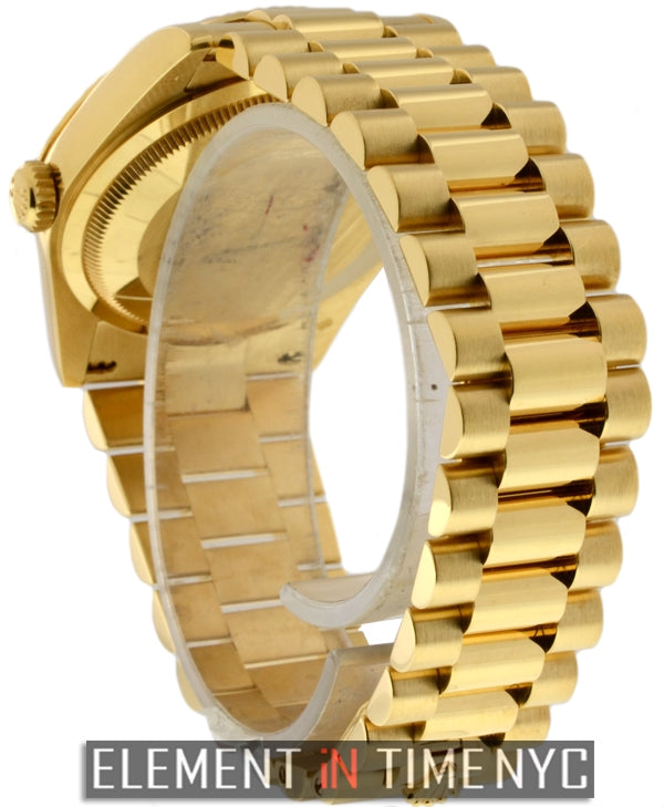 President 18k Yellow Gold 36mm Y Serial