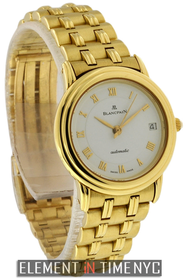 Ladies 18k Yellow Gold