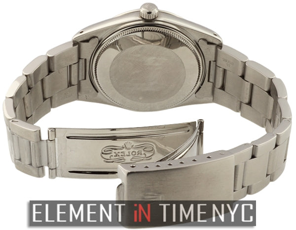 Date 34mm Grey Stick Dial