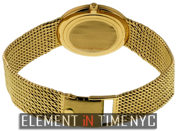 Vintage 18k Yellow Gold 34mm