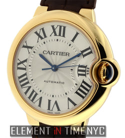 Mid-Size 36mm 18k Yellow Gold Automatic