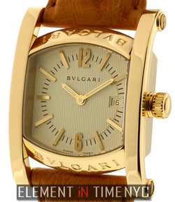 18k Yellow Gold 30mm Ivory Dial