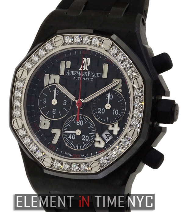 Chronograph Lady Diamond Bezel