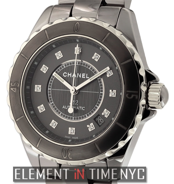 Titanium Ceramic Diamond Dial