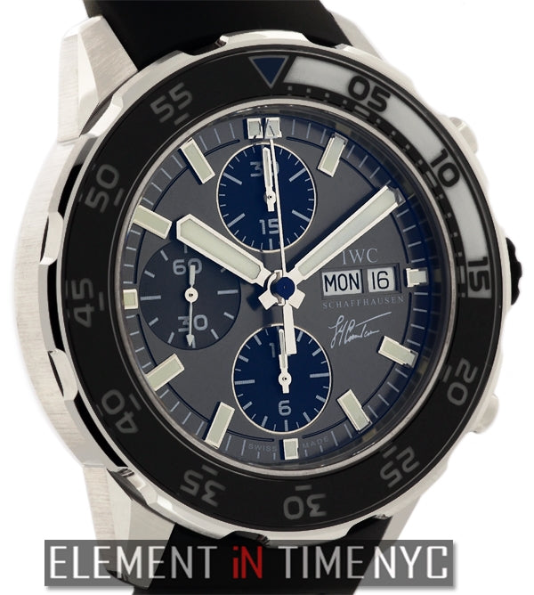 Aquatimer Cousteau Chronograph Steel 44mm