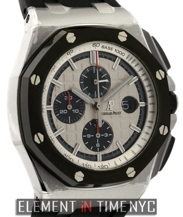 Ceramic Bezel Chronograph Stainless Steel 44mm