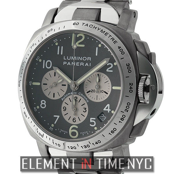 Luminor Chronograph 40mm Titanium Zenith Movement 2003