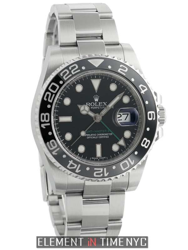 Ceramic Stainless Steel Black Dial 40m