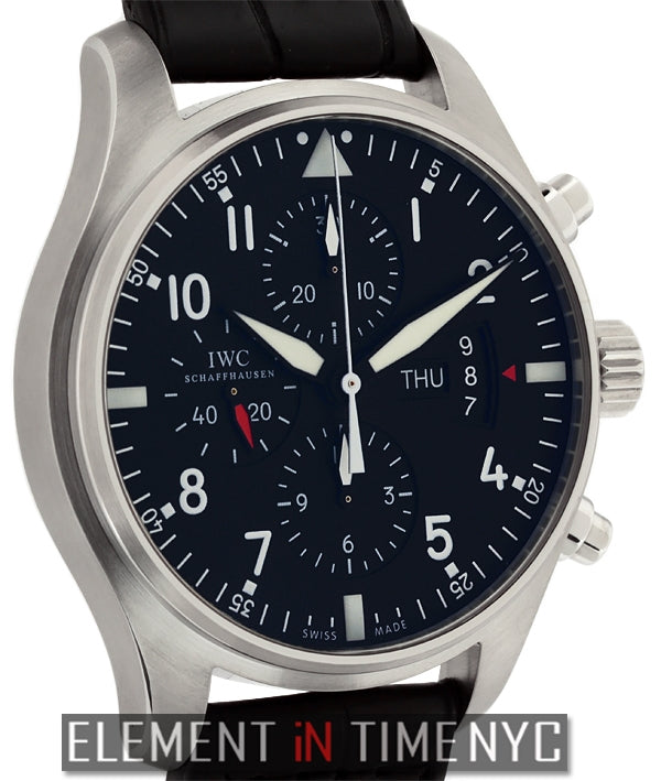 Pilot Chronograph Stainless Steel 43mm