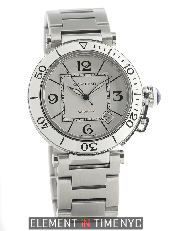 Pasha Seatimer Stainless Steel 40mm Silver Dial Automatic 2008