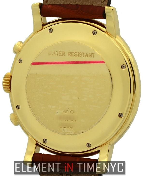 Chronograph Quartz 18k Yellow Gold