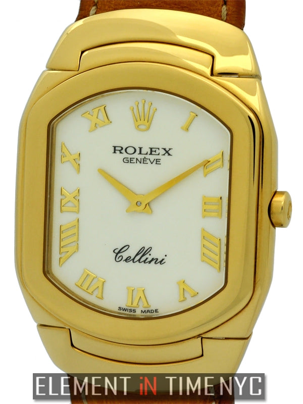 18k Yellow Gold White Dial 29mm Circa 1991