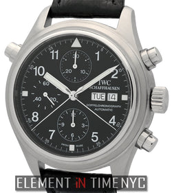Pilot Double Chronograph Stainless Steel 42mm