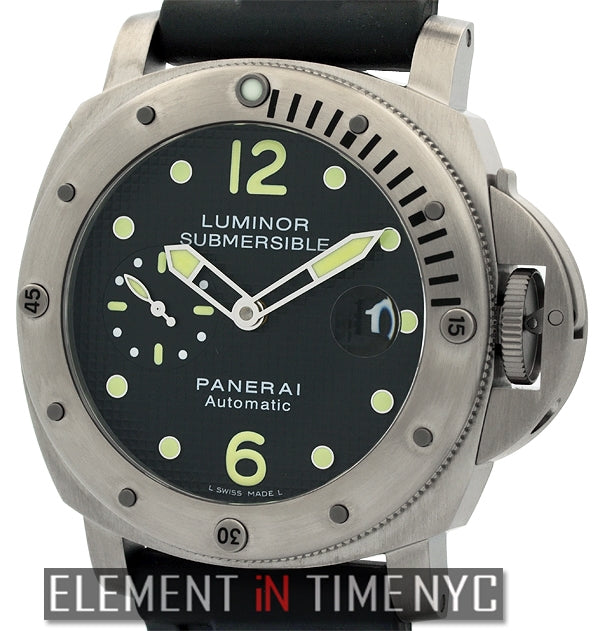 Luminor Submersible Titanium Black Dial 44mm