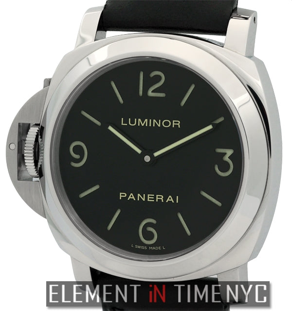 Luminor Base Destro 44mm Stainless Steel