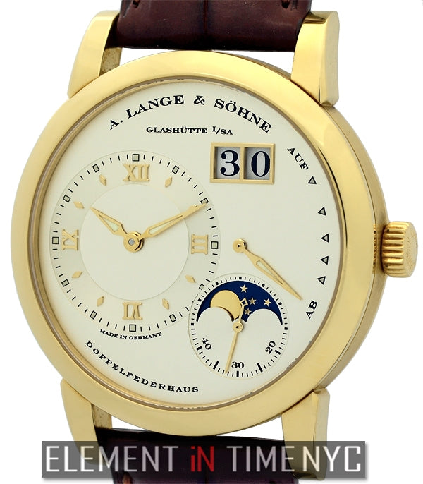 Moonphase 18k Yellow Gold