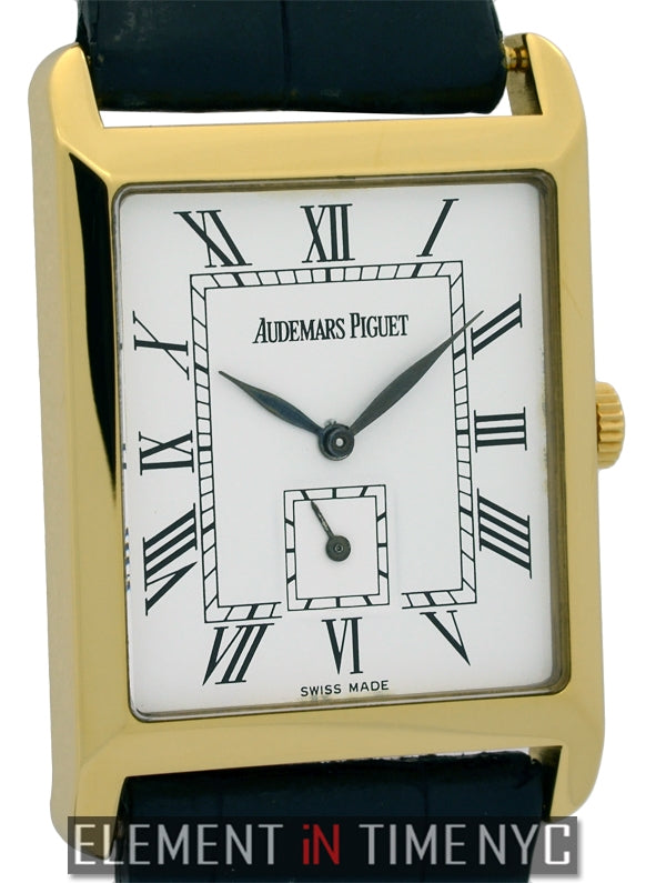 18k Yellow Gold Dress Watch