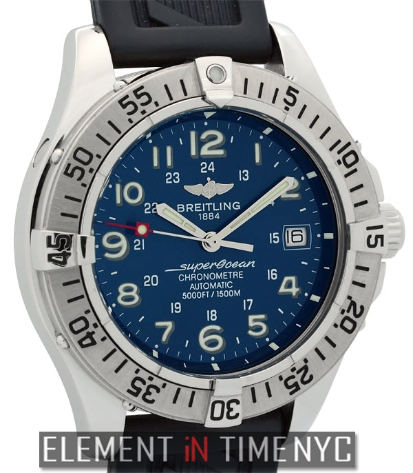 Chronometer Stainless Steel 42mm Blue Dial