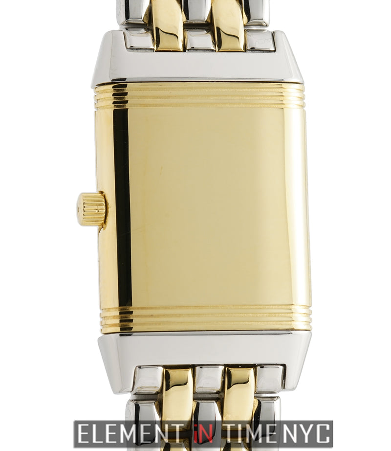 Lady Reverso 20mm Steel & 18k Yellow Gold