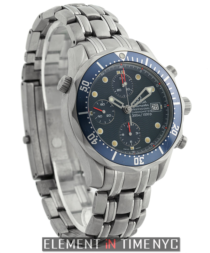 Professional 300 M Chronograph Titanium 42mm Blue Dial