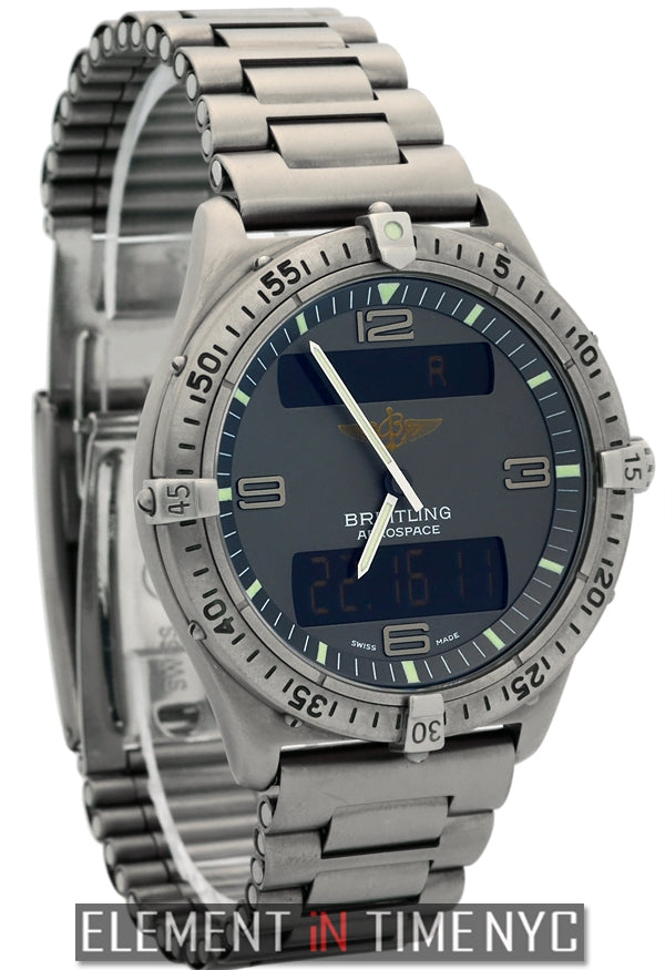 Professional Multifunction Titanium Grey Dial