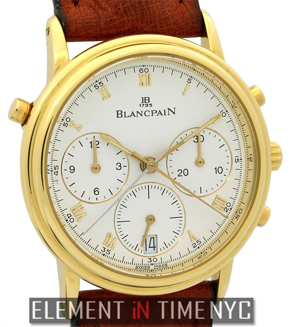Split Second Chronograph 18k Yellow Gold