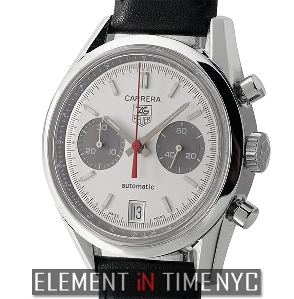 Jack Heuer Chronograph 38mm Silver Dial Limited Edition 2004