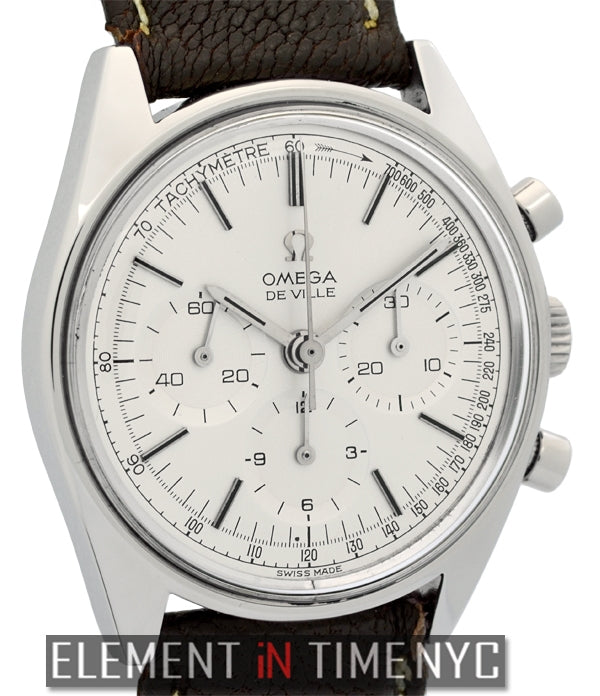Vintage Chronograph Stainless Steel