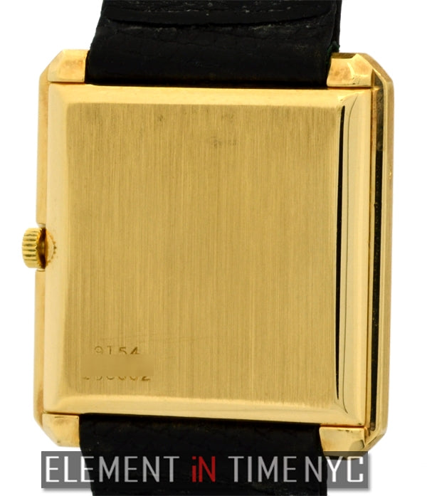 18k Yellow Gold 25mm Champagne Dial