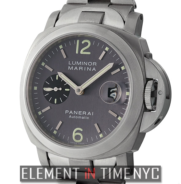Luminor Marina 44mm Titanium And Steel Anthracite Dial 2001