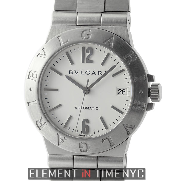 Stainless Steel 36mm White Dial Automatic