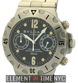 Professional Scuba Chronograph Stainless Steel