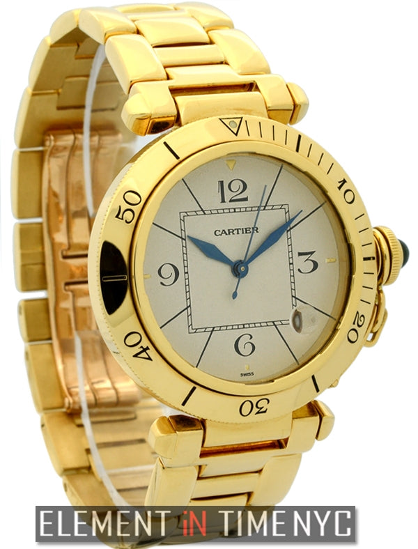 Pasha 18k Yellow Gold 38mm