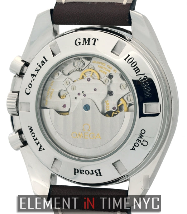 Broad Arrow GMT Stainless Steel 44mm