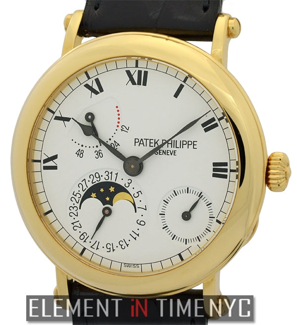 Power Reserve Moonphase 18k Yellow Gold