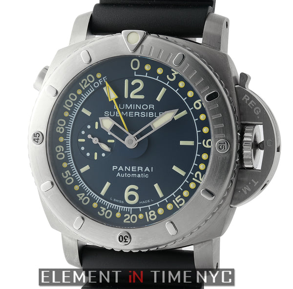 Luminor Submersible 1950 Pangea Depth Gauge 47mm