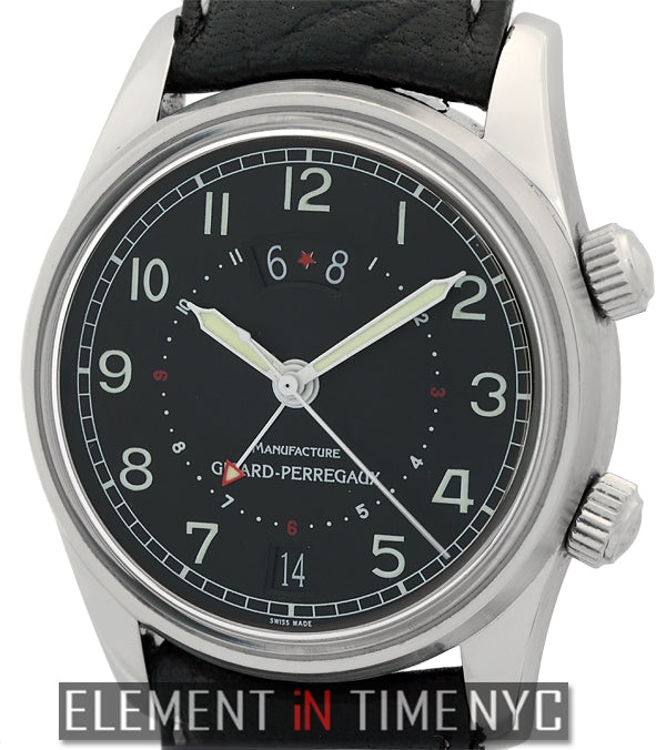 GMT Alarm Stainless Steel 38mm