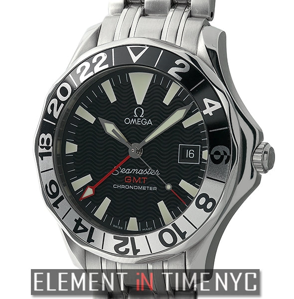 300 M GMT 50th Anniversary Stainless Steel Black Dial