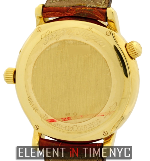 Geographic 18k Yellow Gold