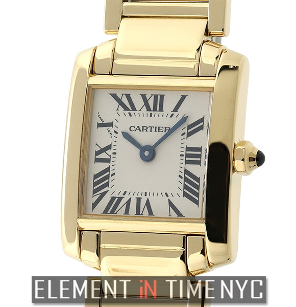 Tank Francaise 18k Yellow Gold Ladies 20mm